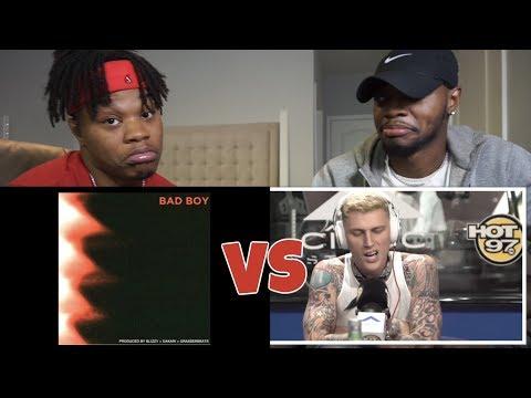 MGK .VS. G-EAZY | Both Disses!! - REACTION