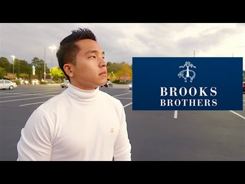 $100 BROOKS BROTHERS CHALLENGE?! (FALL EDITION)