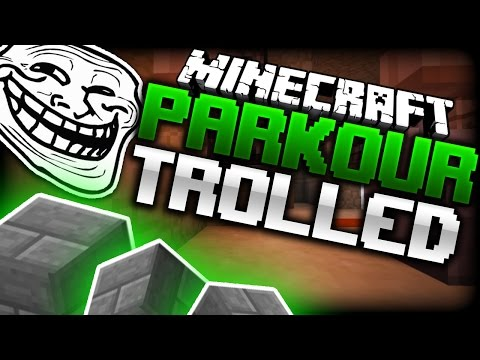 Minecraft: TROLLED BY A PARKOUR MAP? - Biome Dasher