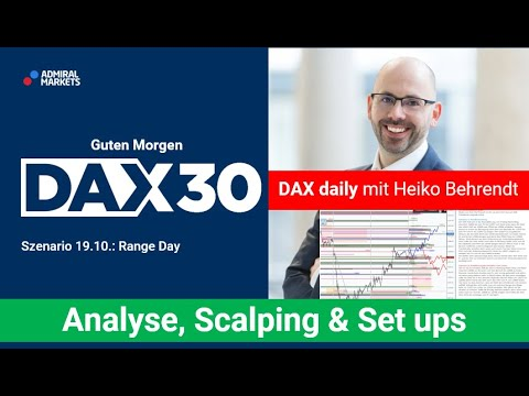 DAX aktuell: Analyse, Trading-Ideen & Scalping | DAX30 | CFD Trading | DAX Analyse | 19.10.2020