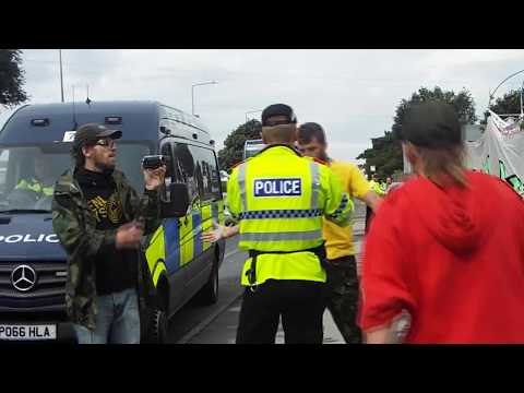 Lancashire Police Bully Behaviour & assault on young female Part1 22082017