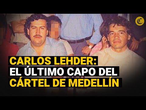 CARLOS LEHDER: El criminal que fue traicionado por PABLO ESCOBAR