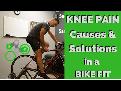 Bike Fit | Causes of Knee Pain and Solutions