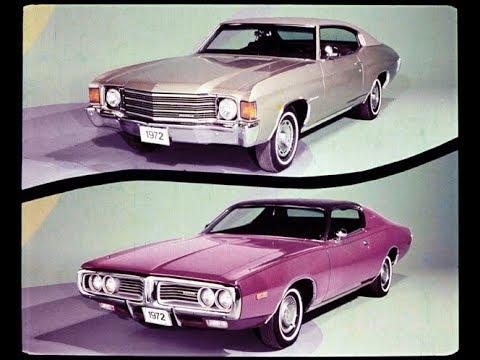1972 Dodge Charger vs Chevrolet Malibu Dealer Promo Film