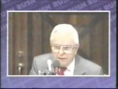 Rush Limbaugh TV- Senator Byrd So Boring He Cracks Rush Up