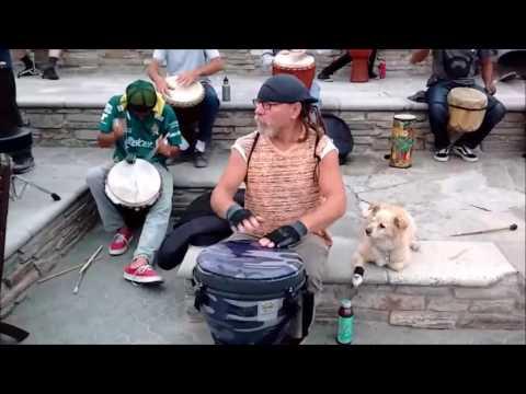 Huntington Beach Drumming 06-04-2017