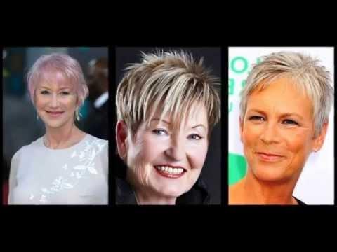 Verwonderend Kapsels vrouwen 60 jaar - YouTube YW-77