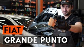 Cum se înlocuiește filtru ulei si ulei motor pe FIAT PUNTO 199 [TUTORIAL AUTODOC]
