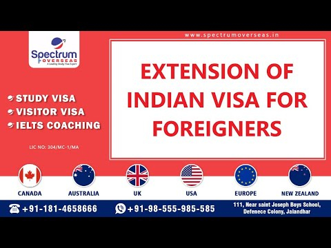 Extension Of India Visa For Foreign Nationals