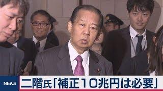 二階氏「補正10兆円は必要」 thumbnail