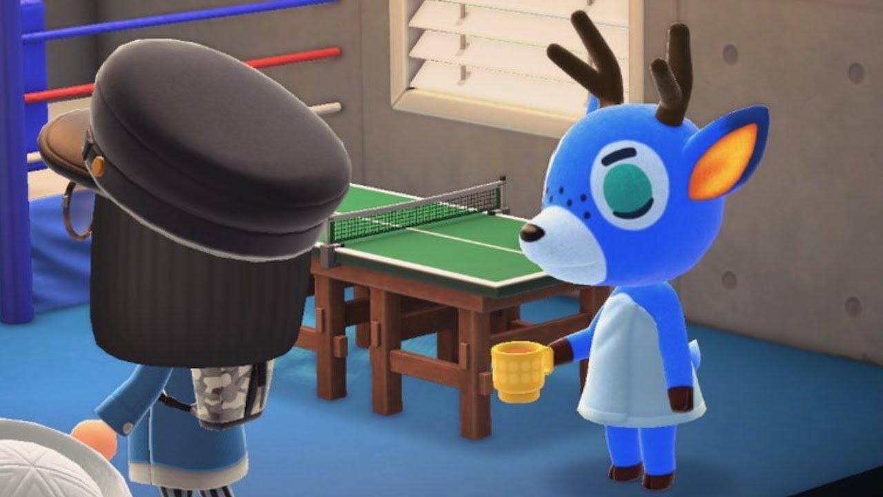 Animal Crossing Villager angry - Deer Bam - YouTube