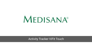 medisana activity tracker vifit touch connect erste schritte