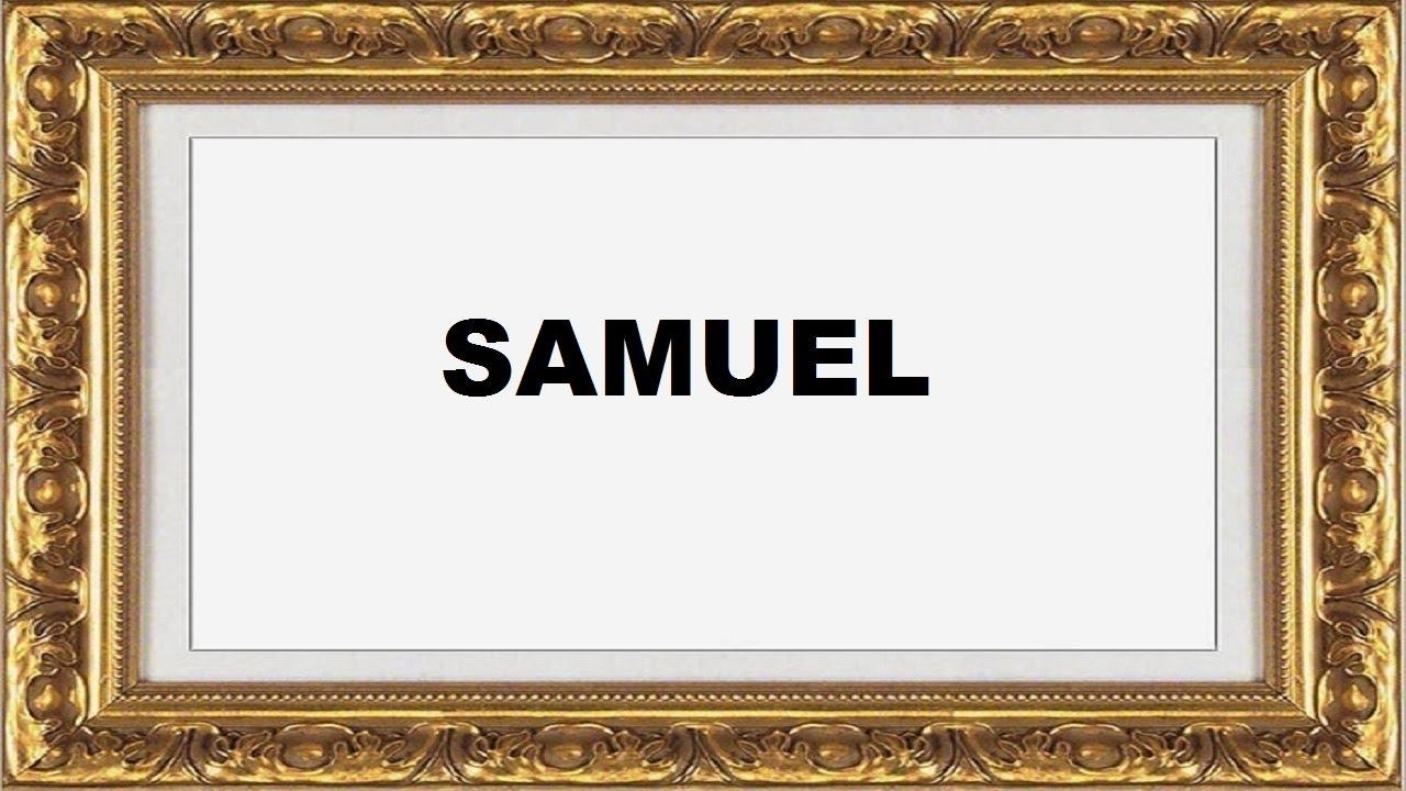 significado do nome Samuel