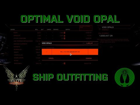 UPDATED - Elite Dangerous - Void Opal OPTIMAL Ship Builds