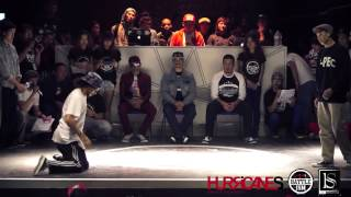 HURRICANES BATTLE-ISM 2013 TAIWAN | POPPIN SOLO BATTLE - Greenteck VS Boogie Tie (Best-16)