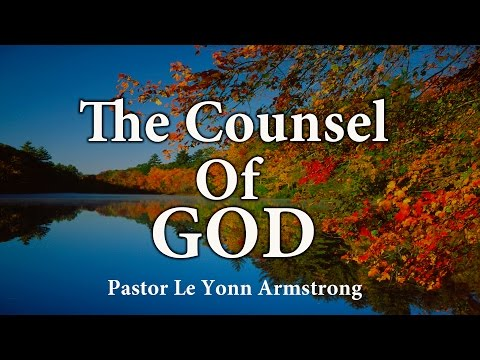 The Counsel Of God