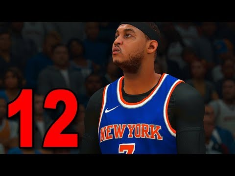 NBA 2K18 My Player Career - Part 12 - CAN'T STOP MELO