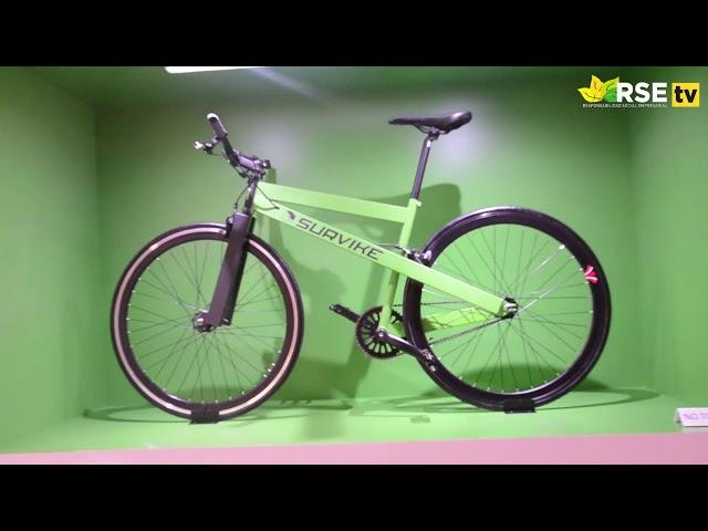 Estudiantes de Toulouse Lautrec fabrican bicicletas con partes de autos