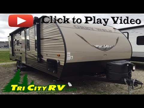 Forest River Grey Wolf Toy Hauler 22RR Travel Trailer- Tri City RV- Bay City, MI