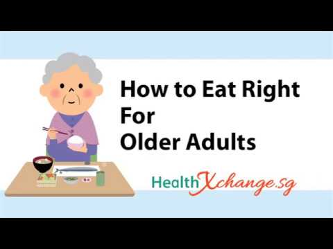 How To Eat Right for Older Adults