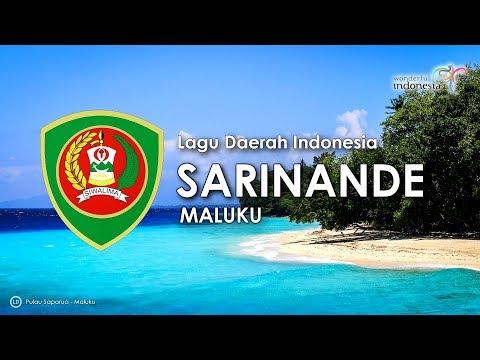 Sarinande - Lagu Daerah Maluku (Karaoke dengan Lirik)