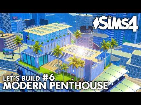 Heimkino | Die Sims 4 Haus bauen | Modern Penthouse #6 (deutsch)