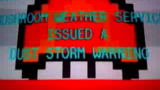 Mushroom Kingdom EAS Dust Storm Warning