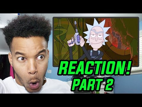 "Rick And Morty Season 3 Episode 1 ""The Rickshank Rickdemption"" REACTION! (Part 2)"