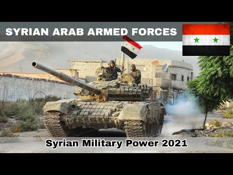 Syria military power 2021 | Syrian Arab Armed Forces | how powerful is Syria