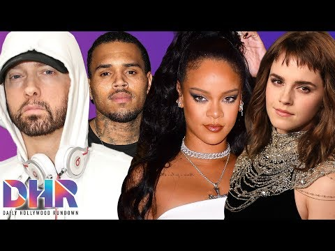 Rihanna Fans DRAG Eminem Over Chris Brown Comments! Emma Watson SHOCKS Fans With Dating Status (DHR)