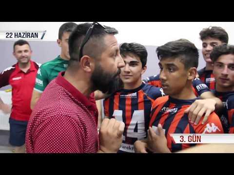 Tokat'ta düzenlenen U-17 Türkiye Şampiyonası 2. Etap Grup maçları hikayemiz...