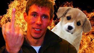 Панин и собака | Кадры из оригинального видео