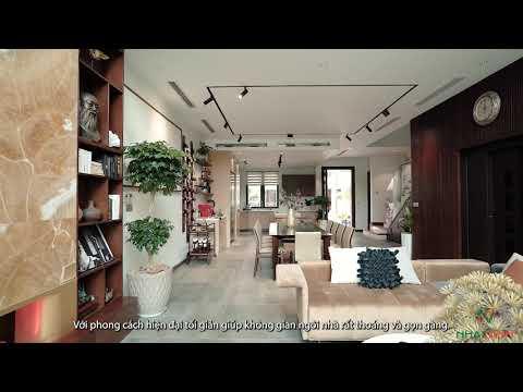 Video thực tế hoàn thiện nội thất nhà liền kề khu đô thị Park City, Hà Nội