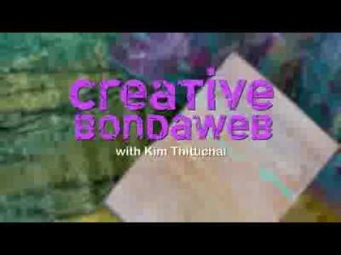 Textile art Bondaweb / Wonderunder with Kim Thittichai