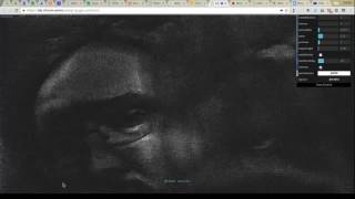 webgl gpgpu particles video by Dzianis Sheka