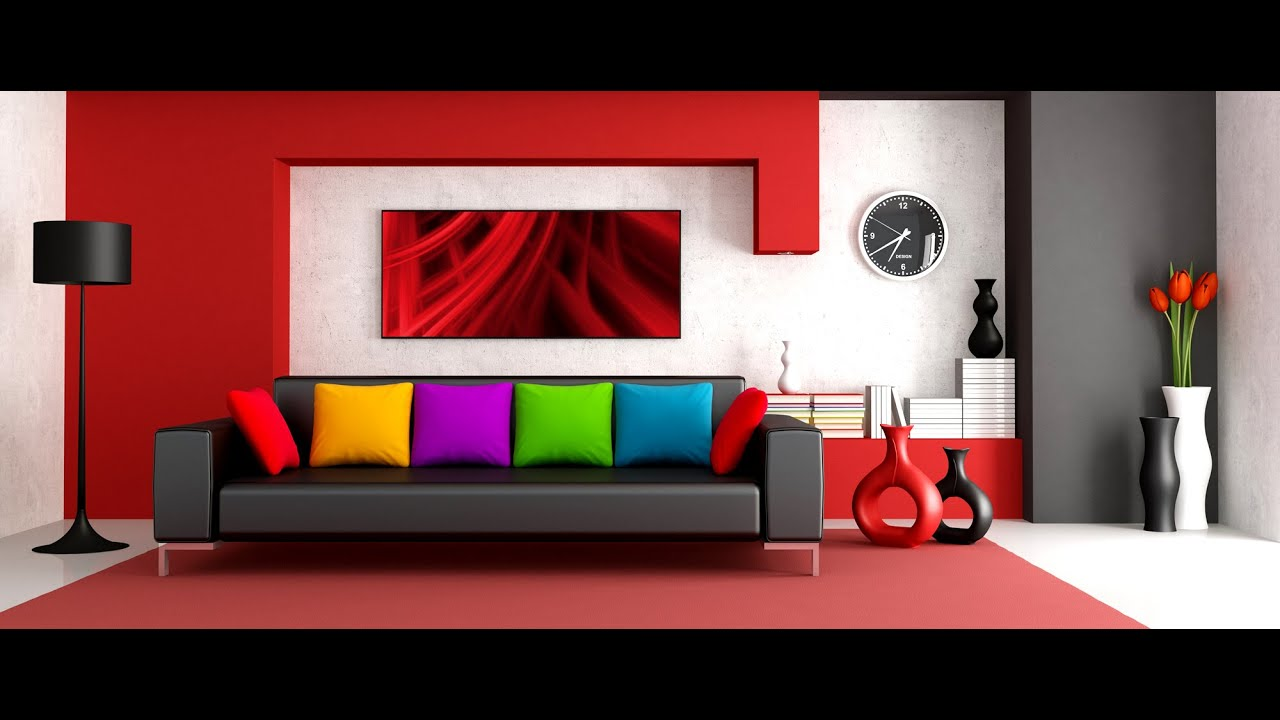 Decoration maison cuisine salon chambre interieur youtube - Salon decoration interieur ...