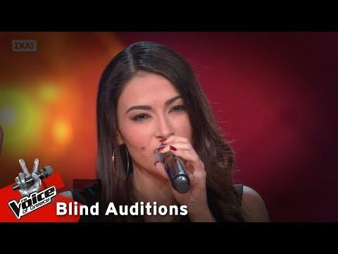 Χριστοδούλα Τσαγκαρά - Τα λέμε | 8o Blind Audition | The Voice of Greece