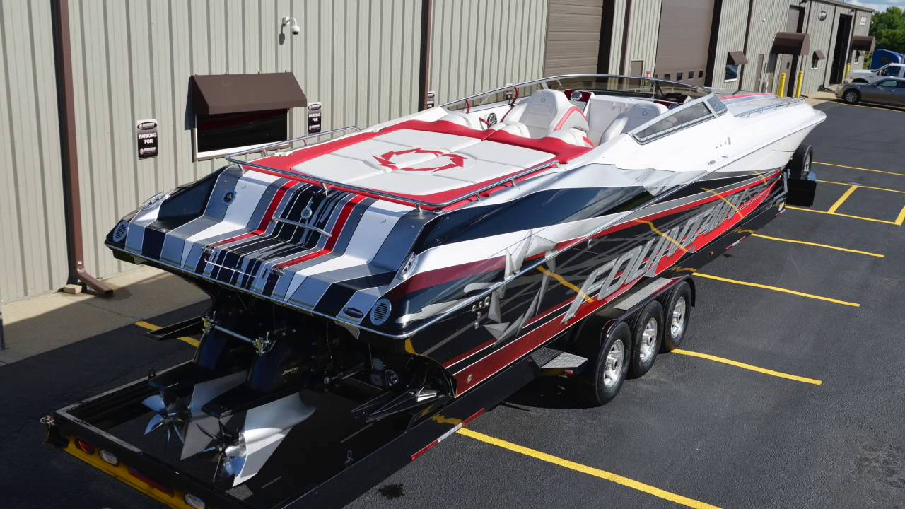 2008 fountain 47 lightning delivery shorgen performance marine youtube