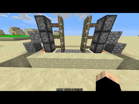 Minecraft   كيف تسوي باب اوتوماتيكي