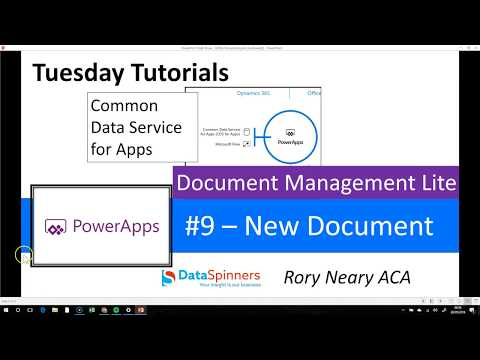 Document Management #9 Create A New Document With Img - Common Data Service For Apps