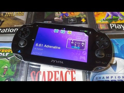 Adrenaline PSP/PS1 Emulator Setup For PS Vita (Full Guide)