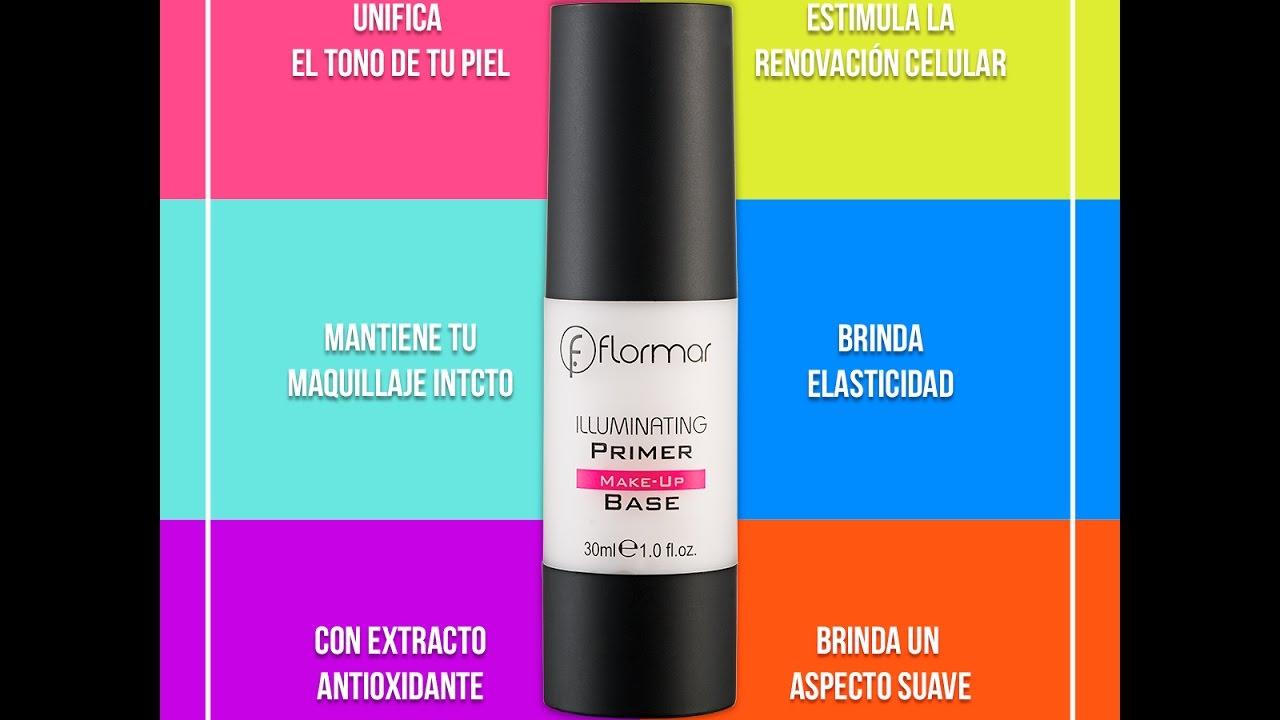 c1a2d8f29 Prebase Iluminadora / Iluminating Primer Flormar (StanHome) - YouTube