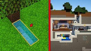 แข่งสร้าง!!บ้านโมเดิร์นสุดเท่ บ้านใต้ดิน VS บ้านใต้ดิน ใครจะชนะ?? (House VS House)