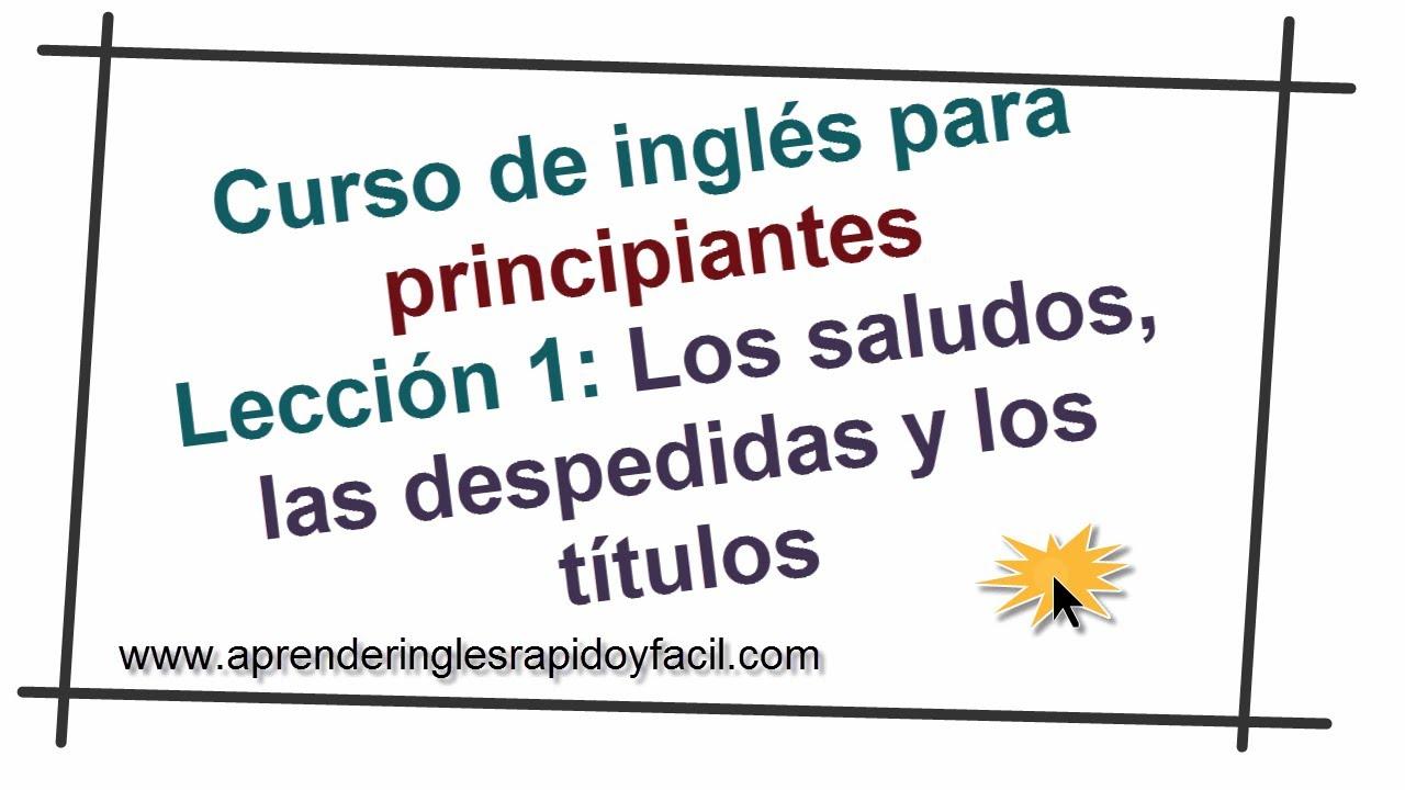Saludos Y Despedidas En Inglés Con Explicación Pronunciación Y