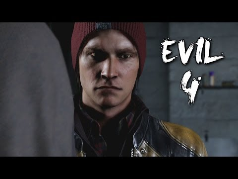Infamous Second Son Evil / Bad Karma Gameplay Walkthrough Part 4 - The Hunters (PS4)