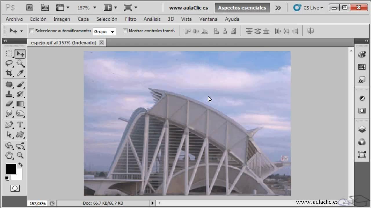 Curso De Photoshop Cs5 Ejercicio 2 1 Trabajando Con La Vista Imagen Youtube