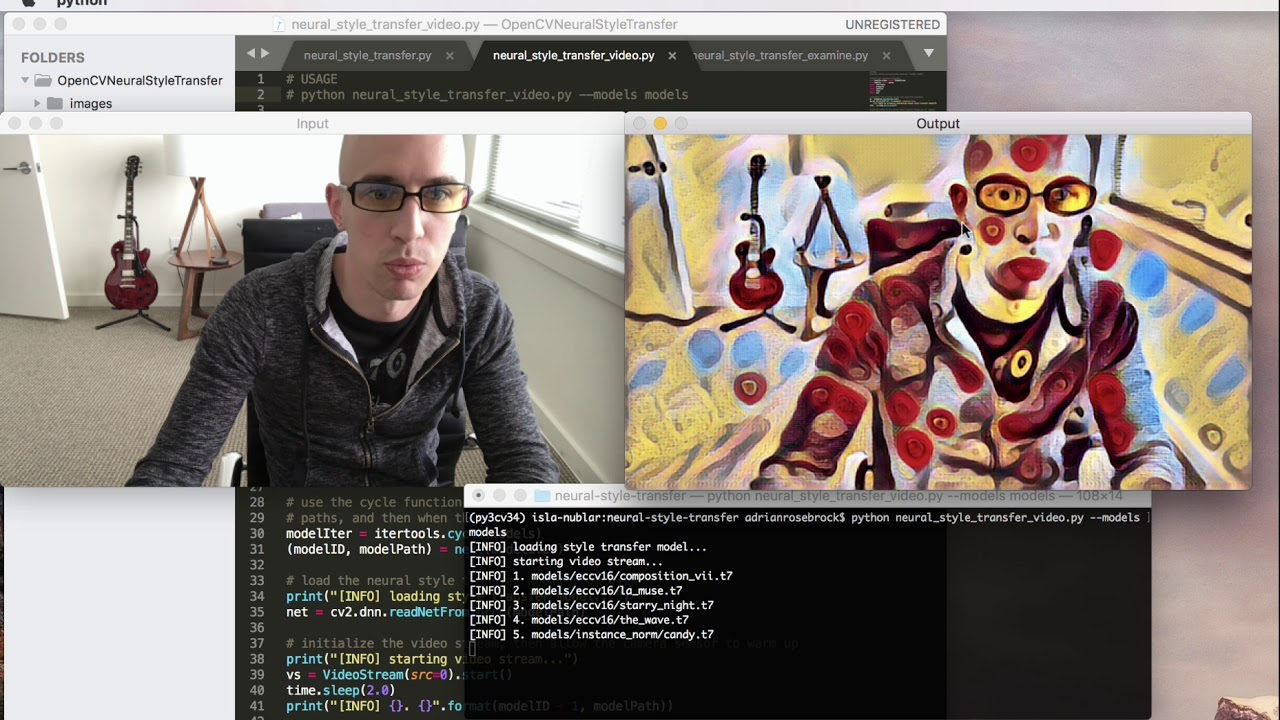 Neural Style Transfer with OpenCV - PyImageSearch