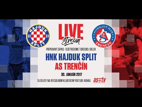 ASTV live: HNK Hajduk Split - AS Trenčín - prípravný zápas