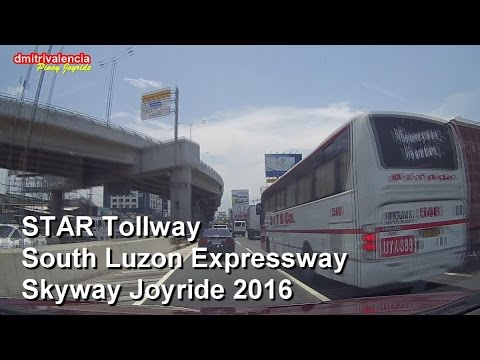 Pinoy Joyride - STAR Tollway SLEX SKYWAY (Complete NB) Joyride 2016