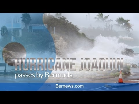 Hurricane Joaquin Passes by Bermuda, Oct 2015